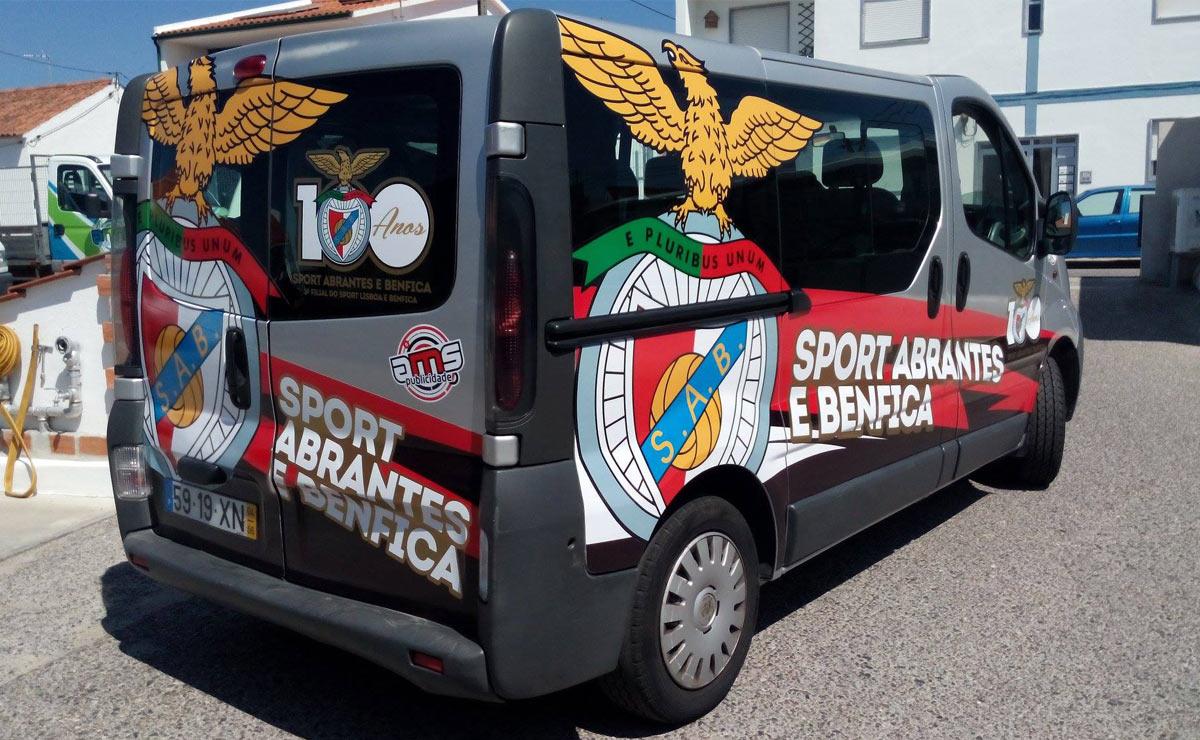 Caracterização de Viaturas Casa do Benfica